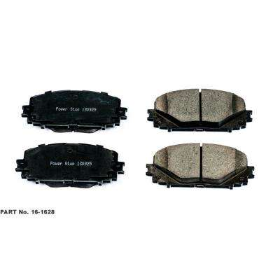Front Evolution Ceramic Disc Brake Pad fits 2012-2016 Toyota Yaris