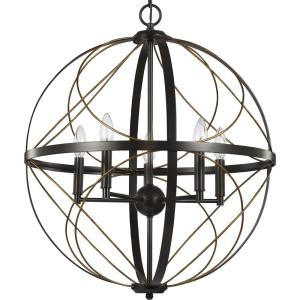 Brandywine 5-Light Antique Bronze Pendant
