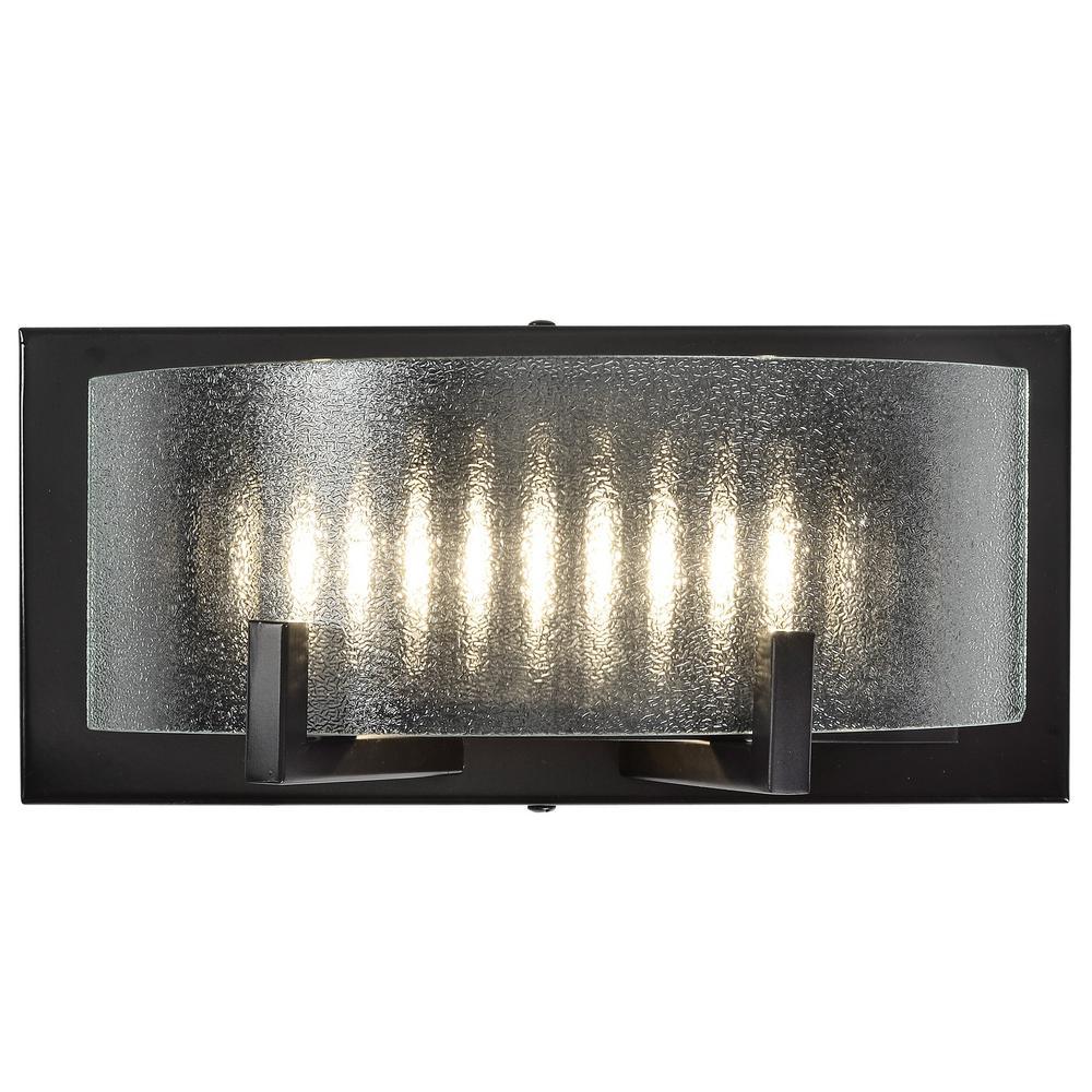 Firefly 7-Watt Warm Bronze Integrated LED Bath Light