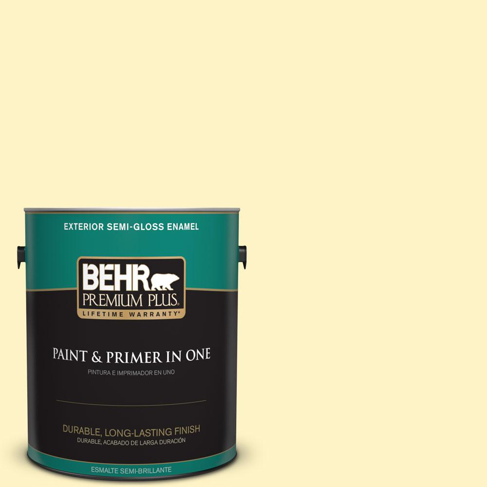 1-gal. #P310-2 Natural Light Semi-Gloss Enamel Exterior Paint