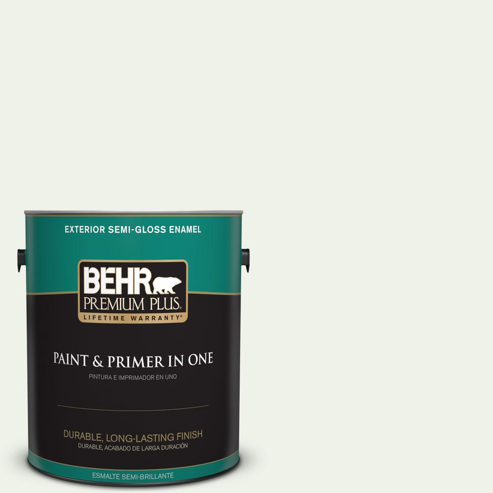 1-gal. #M370-1 Fresh Dew Semi-Gloss Enamel Exterior Paint