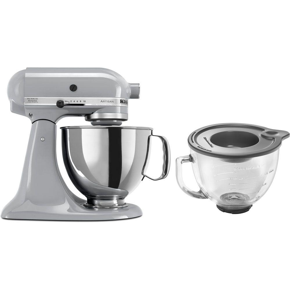 KitchenAid Artisan 5 Qt. Metallic Chrome Stand Mixer