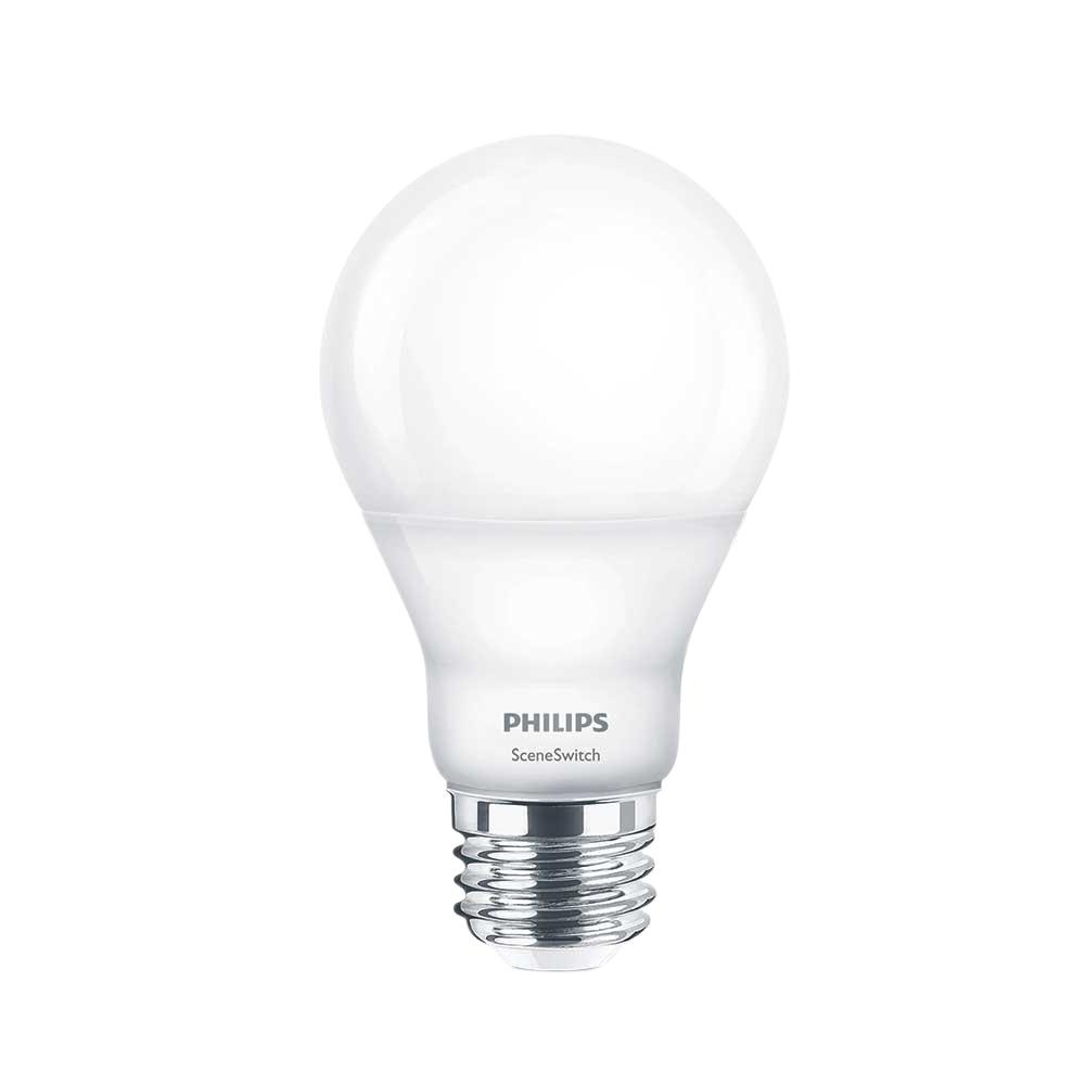 Outside Lights Daylight Or Soft White: Philips 60W Equivalent Daylight/Soft White/Warm Glow Scene