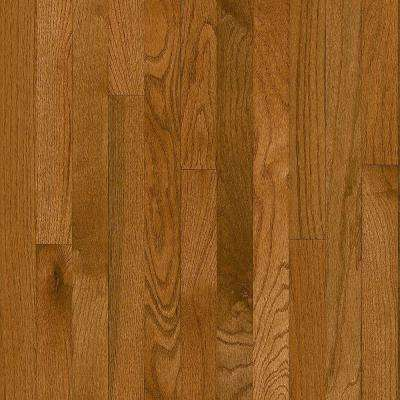 Plano Oak Gunstock 3/4 in. Thick x 2-1/4 in. Wide x Varying Length Solid Hardwood Flooring (20 sq. ft. / case)