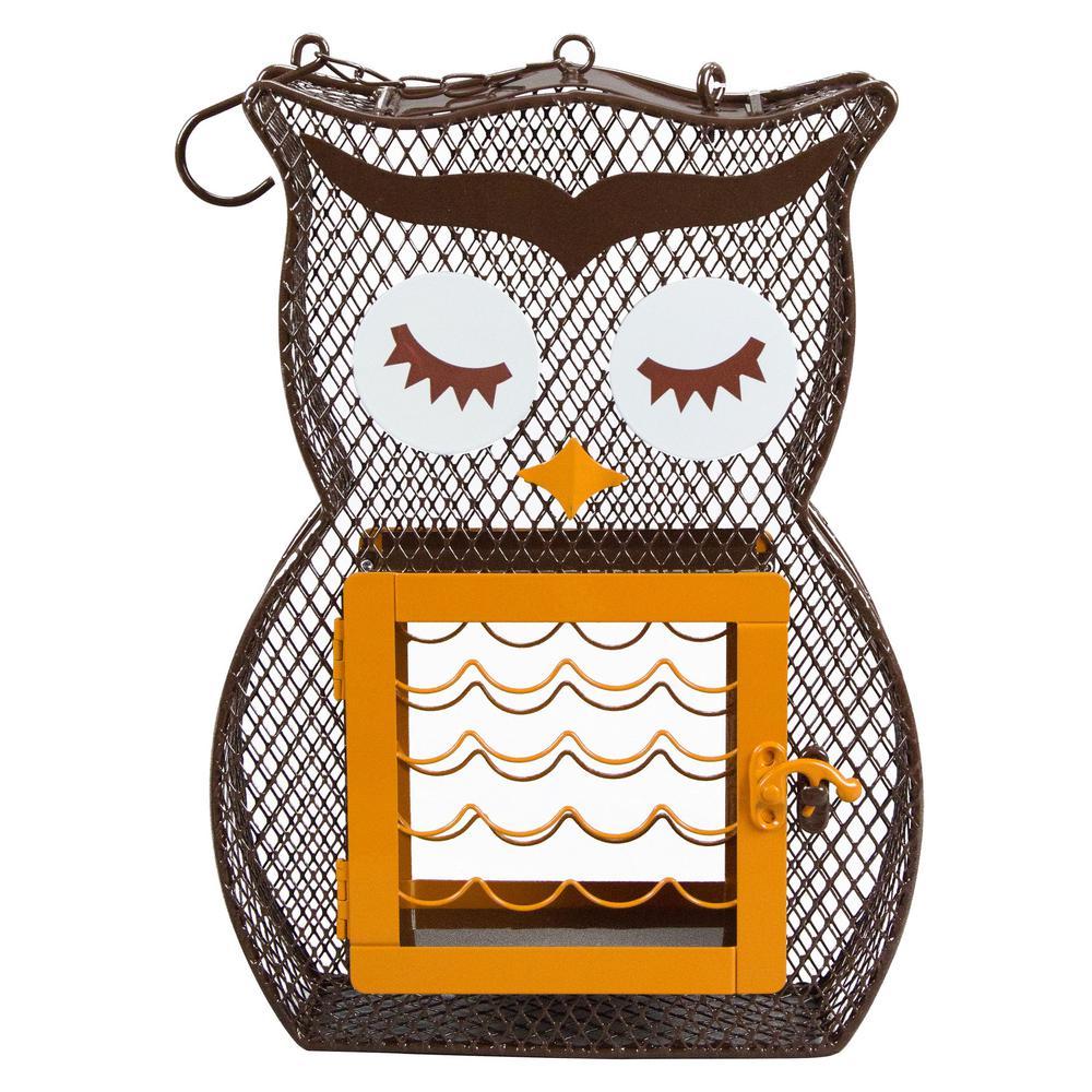 Suet 'n Seed Owl Feeder