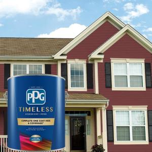 Zinsser Perma White 5 Gal Mold Mildew Proof White Satin Exterior Paint 3100 The Home Depot
