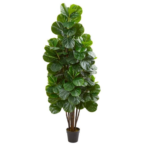 Nearly Natural 6 ft. Indoor Fiddle Leaf Fig Artificial Tree 5543