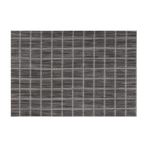 Kraftware EveryTable Black and White Check Placemat (Set of 12) by Kraftware