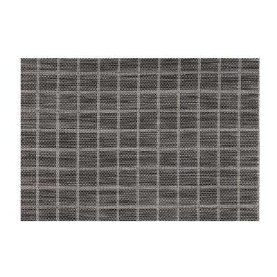 EveryTable Black and White Check Placemat (Set of 12)