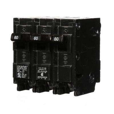 60 Amp 3-Pole Type MP Circuit Breaker