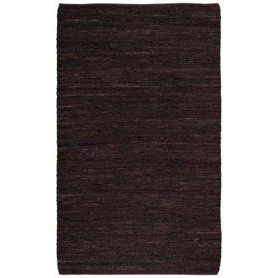 Zions View Cocoa 5 ft. x 8 ft. Flat Area Rug