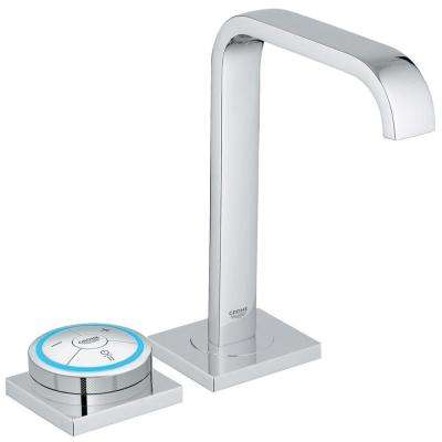 Allure F-Digital AC Powered Single Hole Touchless Bathroom Faucet in StarLight Chrome