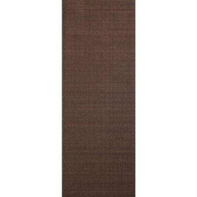 Hamam Collection Solid Brown 26 in. W x Your Choice Length Roll Runner