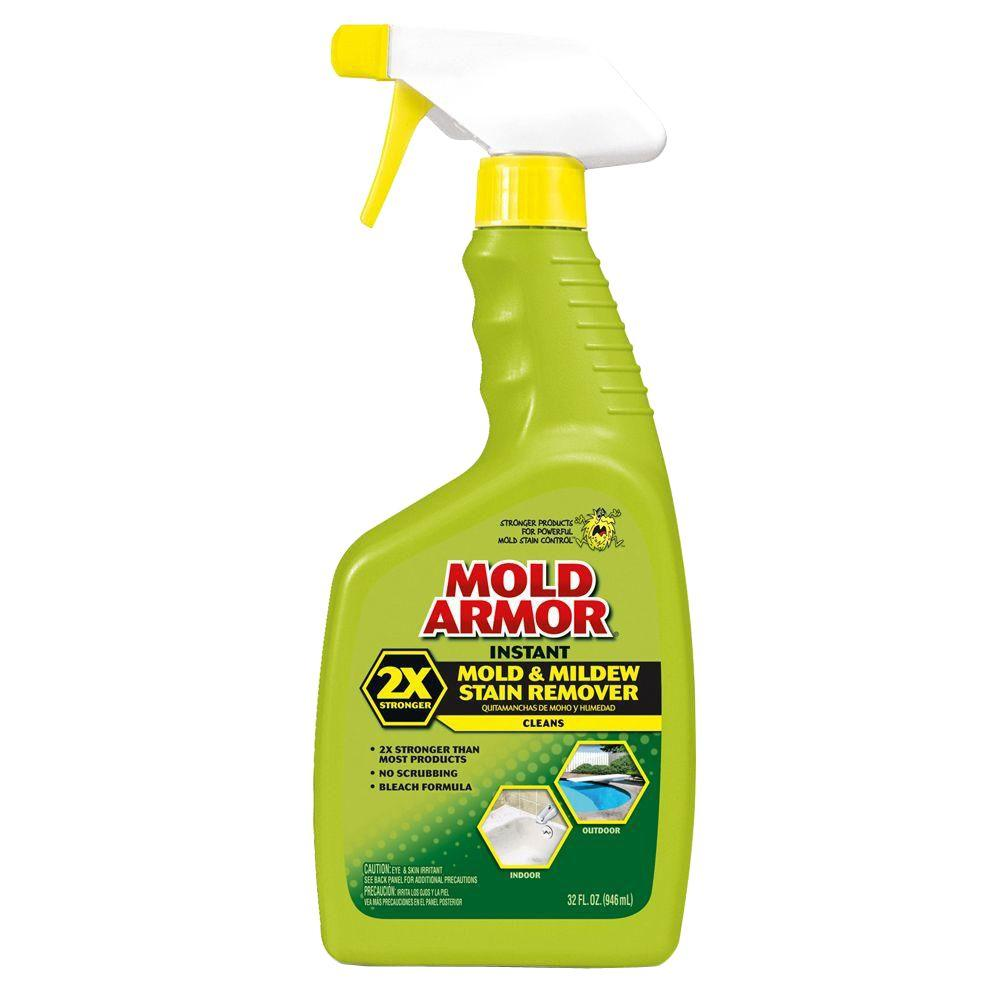 How to keep mold out of bathroom - Mold Armor 32 Oz Instant Mold And Mildew Stain Remover Fg502 The Home Depot