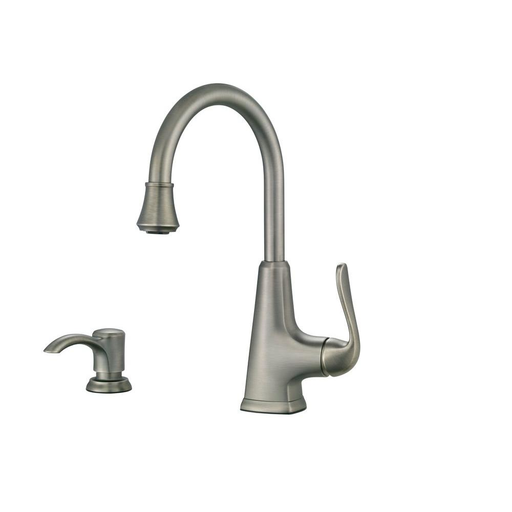 Bon Pfister Pasadena Single Handle Bar Faucet In Slate