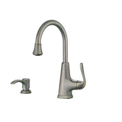 Pasadena Single-Handle Bar Faucet in Slate