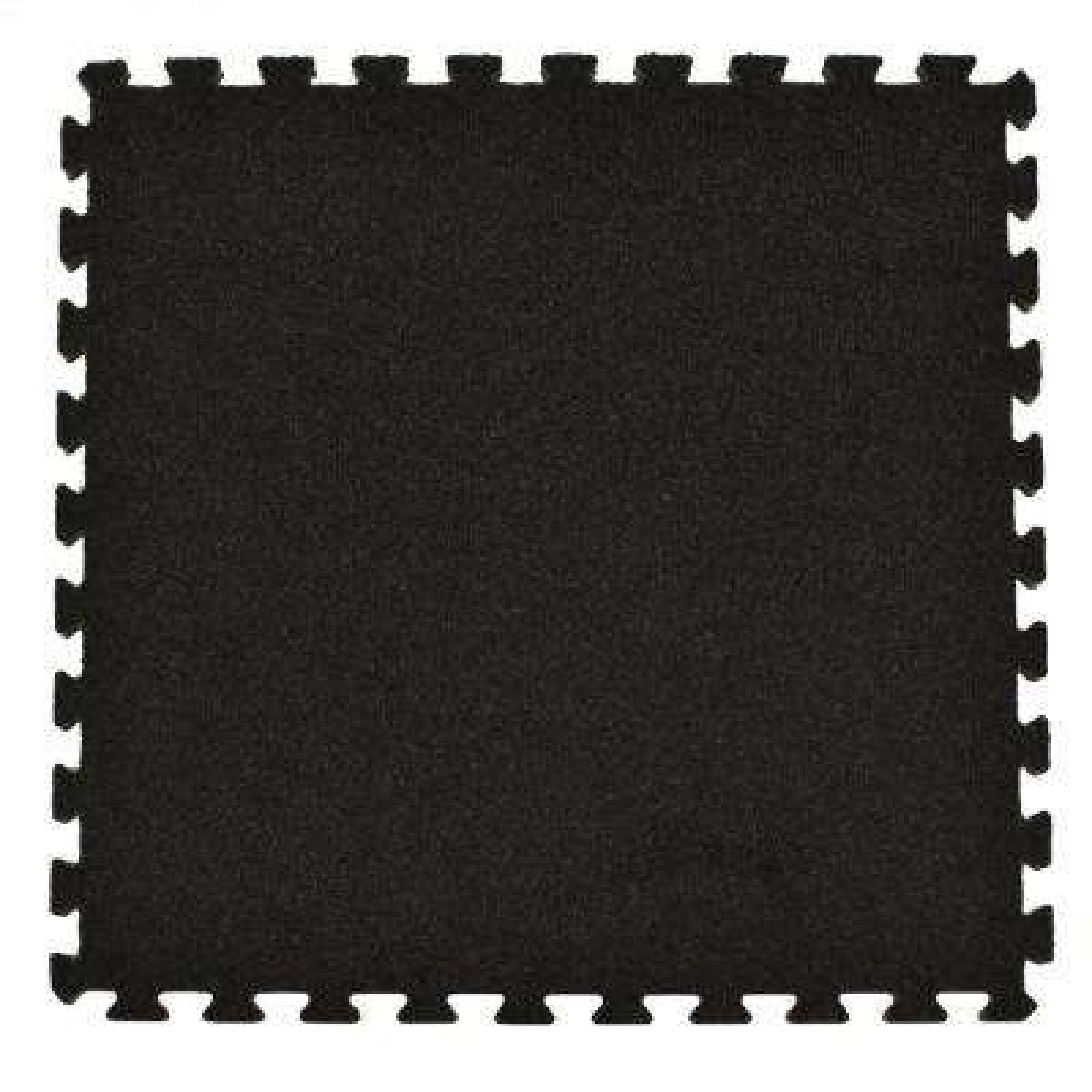 Royal Charcoal Carpet Velour Plush 10 ft. x 10 ft. x 5/8 in. Interlocking Carpet Tile 96.875 sq. ft. (25 piece Kit)