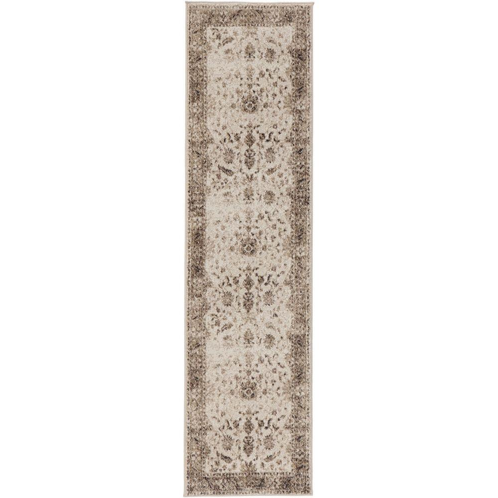 Home Decorators Collection Old Treasures Gray 2 Ft. X 7 Ft