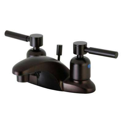 Concord 4 in. Centerset 2-Handle Bathroom Faucet in Oil Rubbed Bronze