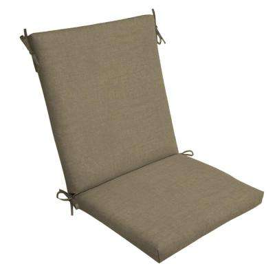 20 x 20 Sandstone Leala Texture Outdoor Dining Chair Cushion