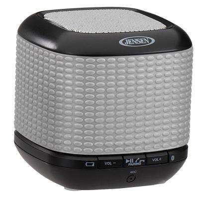 Portable Rechargeable Bluetooth Wireless Speaker with NFC - Silver
