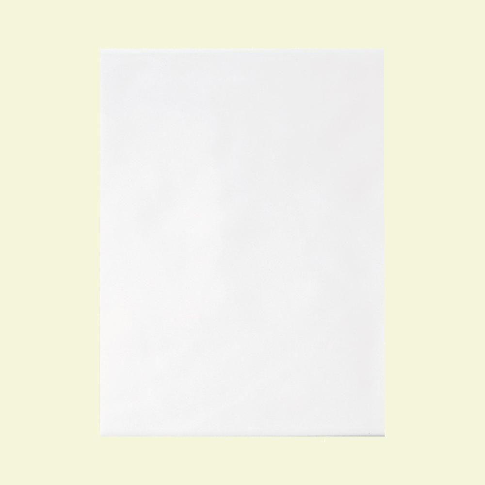 Daltile Polaris Gloss White 12 In X 18 Glazed Ceramic Wall Tile