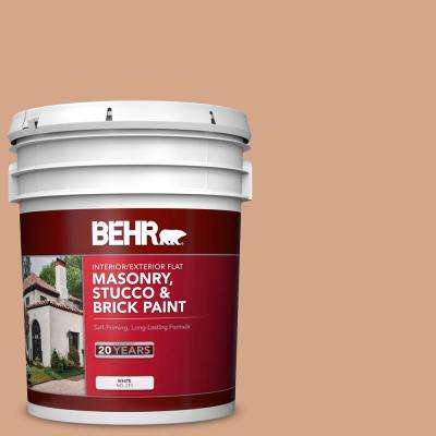 5 gal. #PPU3-11 Autumn Air Flat Interior/Exterior Masonry, Stucco and Brick Paint