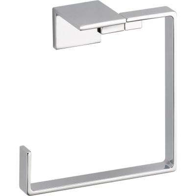 Vero Open Towel Ring in Chrome