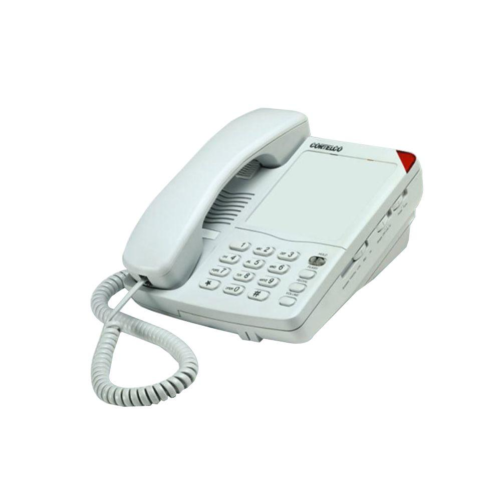 Cortelco Colleague Basic Corded Telephone - Frost