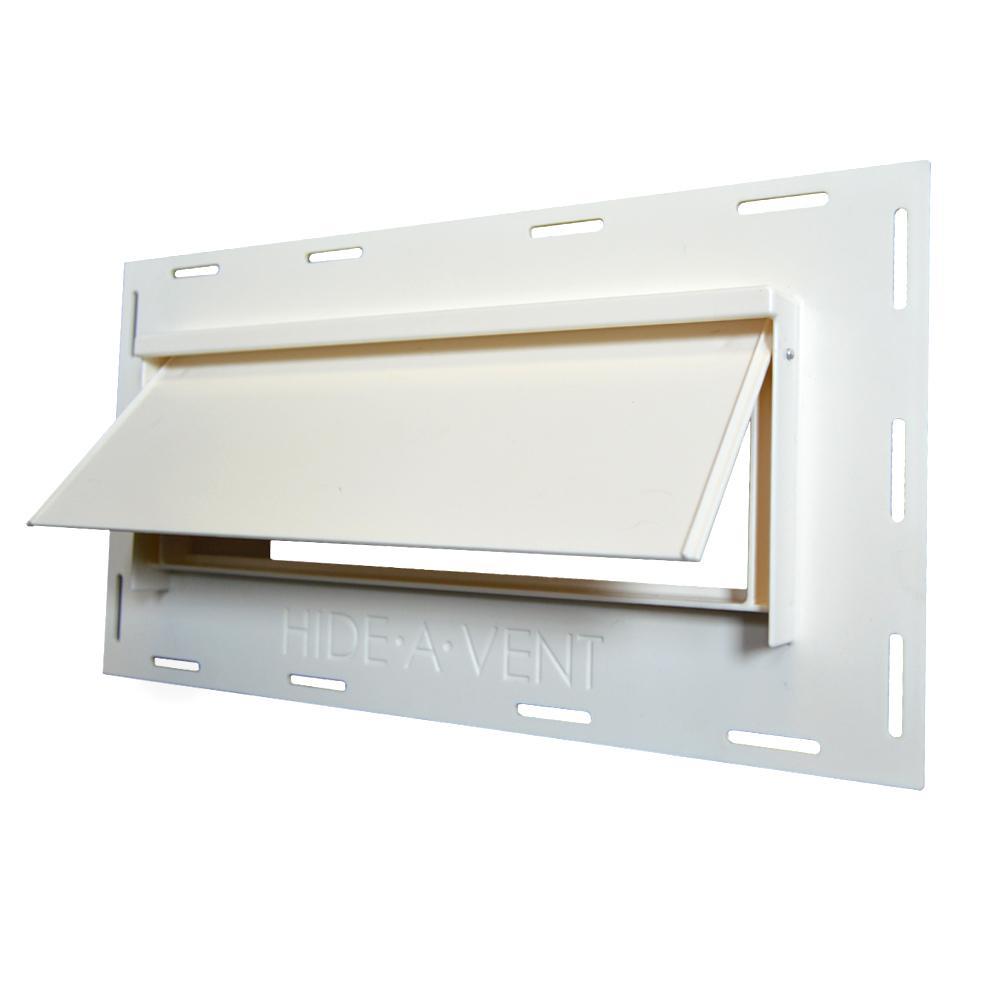 10 in. Rectangular Exterior Vent for Kitchen Exhaust Fans