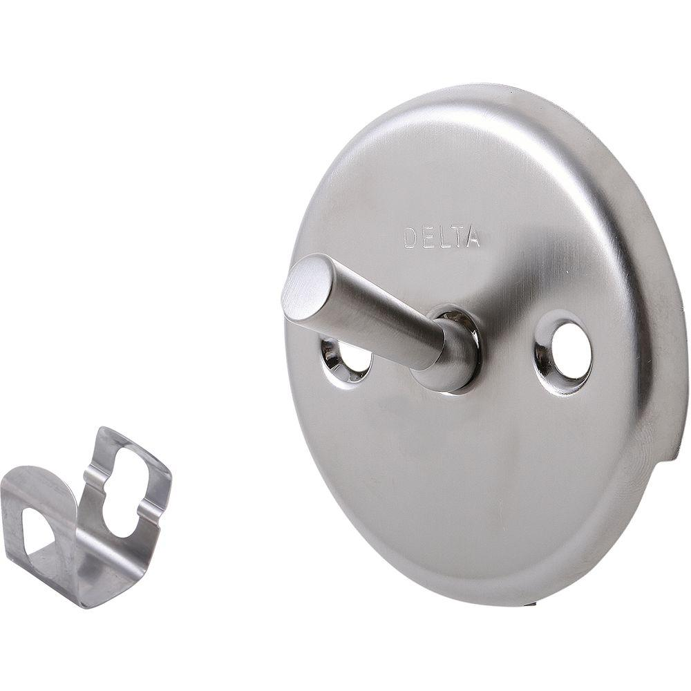 Delta Classic Overflow Plate Assembly in Stainless