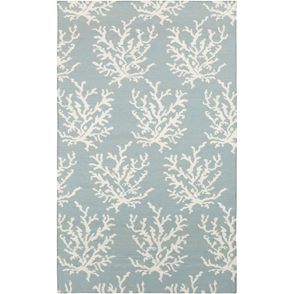Artistic Weavers Ofra Powder Blue 3 Ft X 5 Ft Flatweave Area Rug