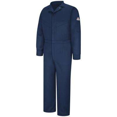 EXCEL FR ComforTouch Men's Size 38 Navy Deluxe Coverall