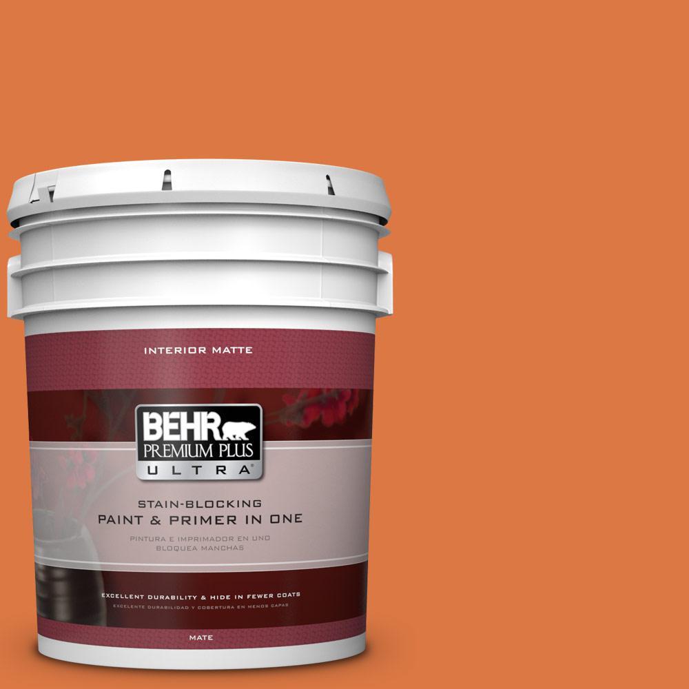 BEHR Premium Plus Ultra 5 gal. #P210-7 Japanese Koi Matte Interior Paint