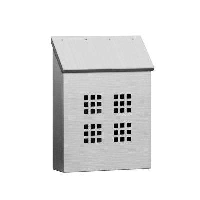 4500 Series Decorative Stainless Steel Vertical Mailbox