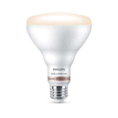 Tunable White BR30 LED 65-Watt Equivalent Dimmable Smart Wi-Fi Wiz Connected Wireless Light Bulb