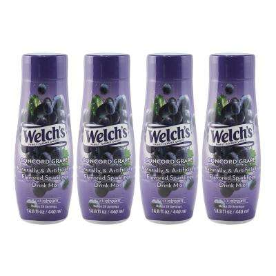 440 ml Welch's Sparkling Concord Grape Drink Mix (Case of 4)