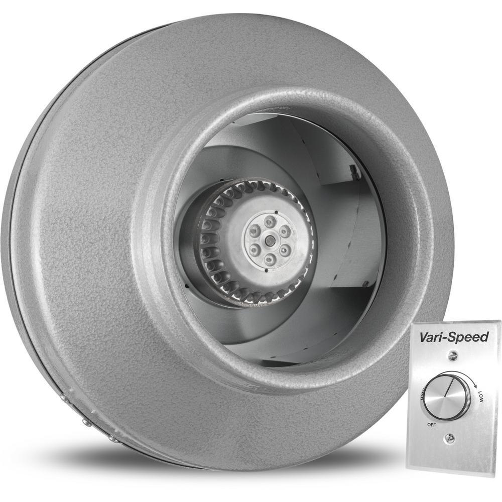 Powerfan 8 in. 739 CFM Inline Fan with Vari-Speed Kit