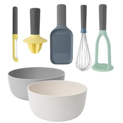 Leo 7-Piece Gadget and Serving Bowl Set