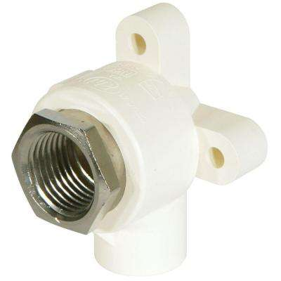 1/2 in. CPVC CTS and Lead-Free Copper Silicon Alloy Pressure 90-Degree S x FIPT Drop Elbow Fitting