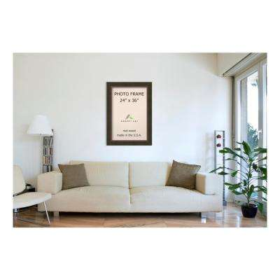 Milano 24 in. x 36 in. Bronze Picture Frame