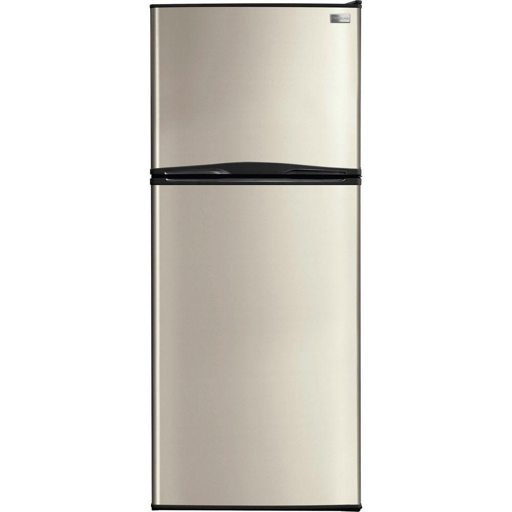 Frigidaire 12 cu. ft. Top Freezer Refrigerator in Silver Mist-DISCONTINUED