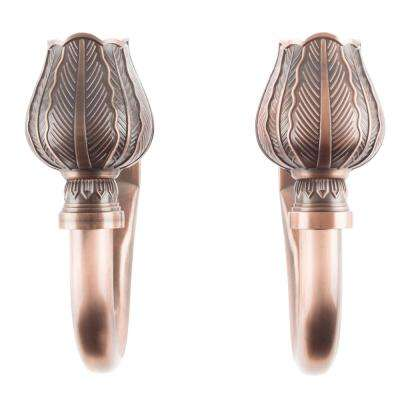 Tulip Holdback Pair in Copper