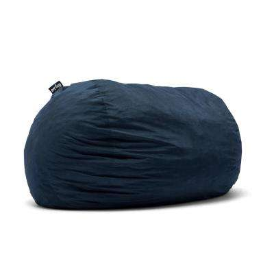 XXL FUF Shredded Ahhsome Foam Cobalt Lenox Bean Bag