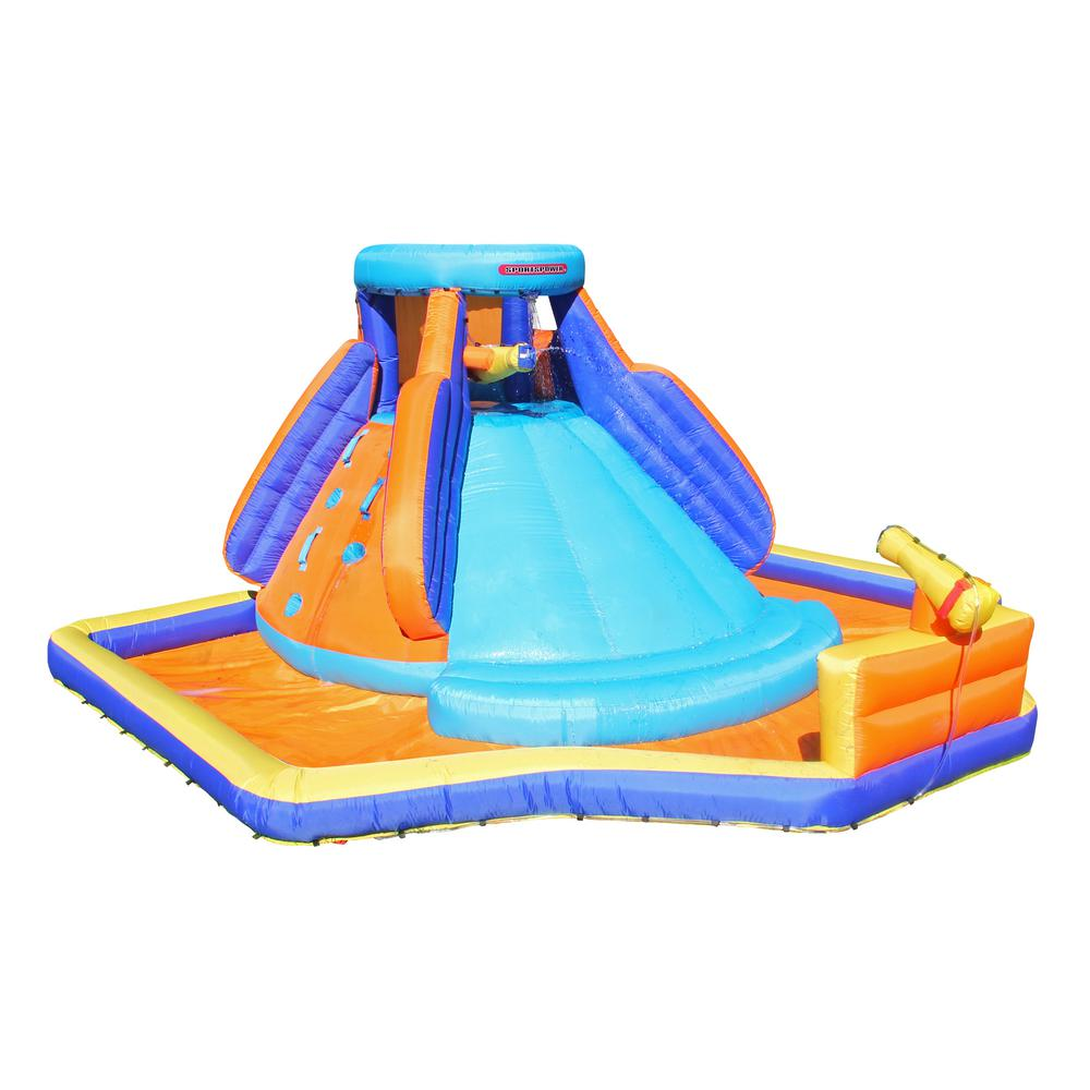 8a47b6639f94 Sportspower Battle Ridge Inflatable Water Slide-INF-1811 - The Home ...