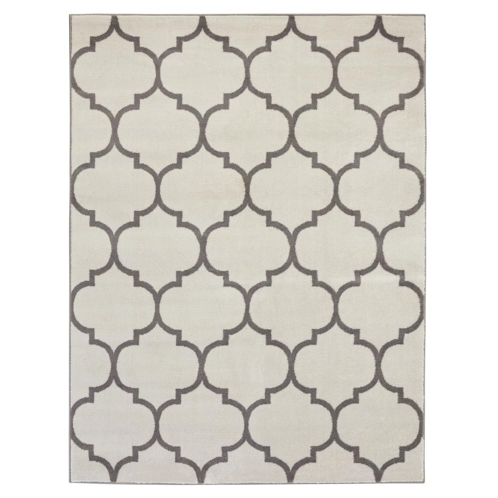 Sweet Home Stores King Collection Moroccan Trellis Cream 7