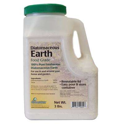3 lb. 100% Pure Freshwater Diatomaceous Earth Shaker Bottle,