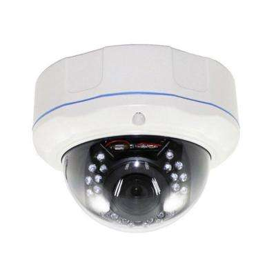 HD Series 1,000TVL Indoor/Outdoor Security Vandal Dome Cameras with 75 ft. of Night Vision, DC12V/AC24V