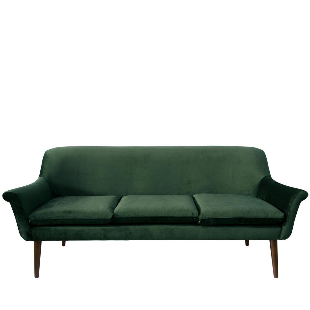 Mystere Jade Modern Sofa