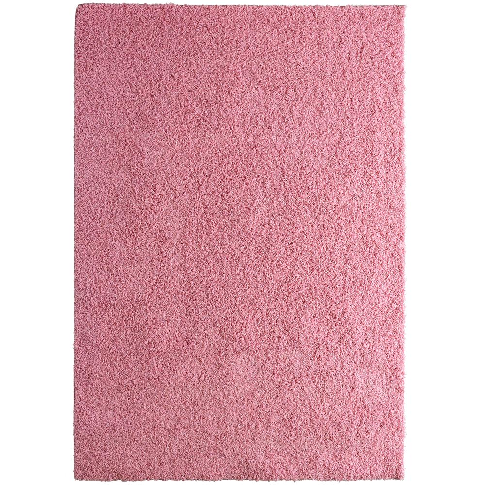 Lanart Custom Shag Pink 6 Ft. X 8 Ft. Indoor Area Rug